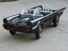 Cool Batmobile pedal car!