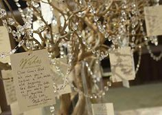 Well wishes, gift cards or decorate a guest book table