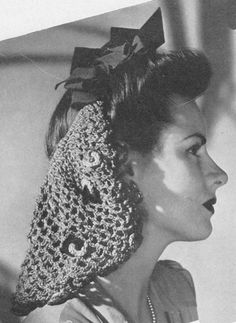 1940's hairstyles  Neat little article on popular hairstyles in the 1940's