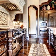 how to decorate your home using the old world style - Old World Style Kitchens