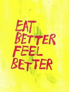 Don't I know it!  Hate it when I eat crappy food and feel bad the next day!!