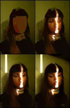 ArtStation - Colour and Light Study, Aaron Griffin