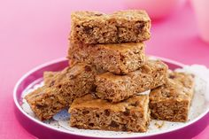 Spiced oat and raisin slice: The bake-sale classic gets a fun makeover with slices that are a cut above the rest!