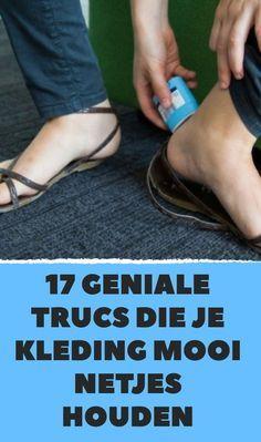 17 geniale trucs die je kleding mooi netjes houden