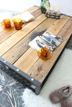 Mesas de estilo industrial - ECOdECO Mobiliario