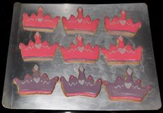 tiara cookie favors Kat made