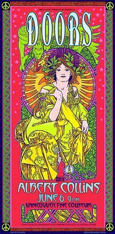 The Doors  Concert Poster