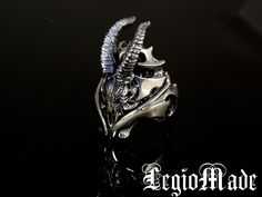 【楽天市場】LegioMade【Metal Goat】(スカルリング/シルバーアクセサリー/シルバーアクセ/シルバー/シルバー925/Silver925/銀/レギオメイド/リング/指輪/メンズ/ヤギ):Lunatic Nights
