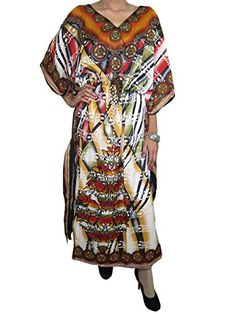 Mogul Boho Caftan Designer Long Kaftan Printed V-neck Dress Beach Coverup Mogul Interior http://www.amazon.com/dp/B01488TWGW/ref=cm_sw_r_pi_dp_8xV3vb12ZFEH7
