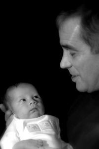 #1 on the breastfeeding team -> Daddy - Major Jarold T Johnston Jr, CNM, IBCLC