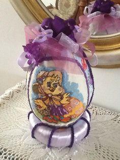 Uova Pasqua tessuto by Maria D'Eugenio