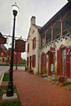 Historic Old Talbott Tavern in Bardstown, Kentucky
