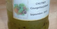 Confiture courgettes citron