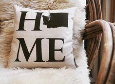 personalized home pillow // sovintagechic.com