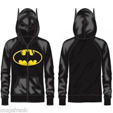 Batman DC Comics Costume Juniors Hoodie Jacket Shirt Nwt