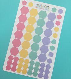 Hexagon Planner Stickers