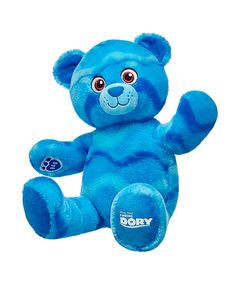 Build A Bear Finding Dory Plush Ocean Bear. Personalized Tee Shirts, Summer Crafts For Toddlers, Disney Finding Dory, Finding Nemo, Custom Teddy Bear, Build A Bear Outfits, Bear Character, Online Gift Shop, Best Kids Toys
