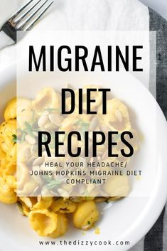 Looking for recipes that the Heal Your Headache Migraine Diet (HYH) or Johns Hopkins Migraine Diet These low tyramine, gluten free recipes will reduce food triggers associated with migraine. Headache Diet, Migraine Diet, Migraine Relief, Migraine Triggers, Migraine Remedy, Cough Remedies For Adults, Foods For Migraines, Food For Headaches, Natural Headache Remedies