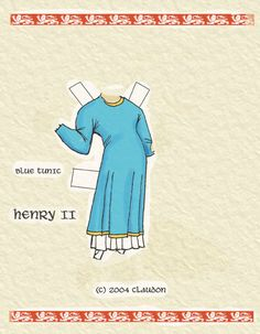 A Plantagenet Paper Doll by David Claudon