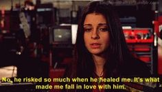 Liz talking about Max- Roswell S3