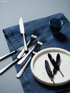 The sophisticated blues - Boya Fikirleri Color Inspiration, Interior Inspiration, Bedroom Inspiration, Jotun Lady, Best Bedroom Colors, Nordic Living, Color Stories, Kitchen Dining, Minerals