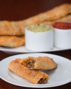 Cheesy Taco Breadsticks