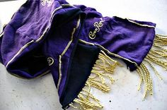 CROWN ROYAL Custom Handmade Scarf