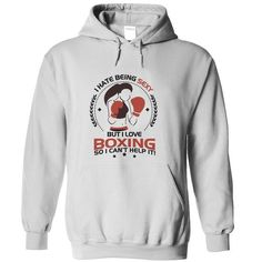 Sexy Boxing Girl T Shirts, Hoodies, Sweatshirts. CHECK PRICE ==► https://www.sunfrog.com/Sports/Sexy-Boxing-Girl-White-Hoodie.html?41382