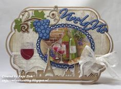 Anja Zom kaartenblog: Wijntje?