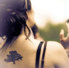 90 Árboles para chicas | Belagoria | la web de los tatuajes
