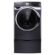 Photo of an efficient front-loading clothes washer from Samsung