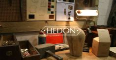 Hedon Workshop table at EICMA 2013