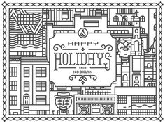 Nooklyn Holiday Card