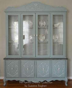Vintage Bassett China Cabinet Gets a New LIfe | Hometalk