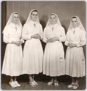 On 8 August 1963, our sisters Metella Lafleur, Rita Girouard, Angeline Thivierge and Lucienne Hebert fly to Marilia Brazil