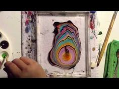 Suminagashi Paper Marbling DIY Japanese Water Marbling (How to Marble Paper) - YouTube