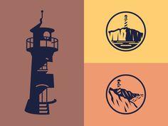 Dribbble - Lighthouses by Matt Vergotis
