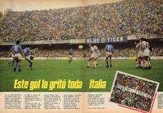 Empezaba a escribir su historia en Italia, temporada '85 - '86, un segundo lugar…