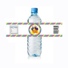 Wiggles Water Bottle Labels  Digital Download  by BusyBeeDesignzzz, $2.50