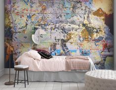 Using wall paintings or wall murals is one of the simplest decoration choices but still gives an artistic impression. This wall mural, aside from being an inspiration for your … Design Shop, Küchen Design, Wall Design, Design Ideas, Graffiti Wallpaper, Print Wallpaper, Wallpaper Ideas, Diy Wand, Go Green