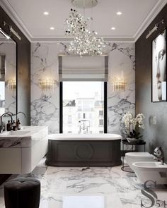 For the past year the bathroom design ideas were dominated by All-white bathroom, black and white retro tiles and seamless shower room Bathroom Design Layout, Bathroom Design Luxury, Bathroom Colors, Bath Design, Bathroom Grey, Bathroom Marble, Bathroom Ideas, Small Bathroom, Warm Bathroom