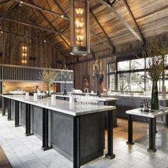 rams gate winery - Google Search Brewery Design, Restaurant Design, Restaurant Ideas, Rustic Design, Rustic Decor, Winery Tasting Room, Ceiling Beams, Beam Ceilings, Rustic Elegance