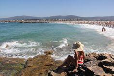 Playa de Foz en Lugo.