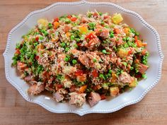Tofu Recipes, Asian Recipes, Cooking Recipes, Ethnic Recipes, Asian Foods, Spam Fried Rice, Crockpot Mashed Potatoes, Canned Meat, Kitchens