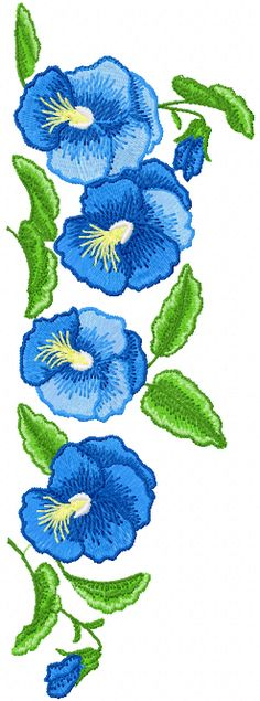 Flower decoration machine embroidery design                              …