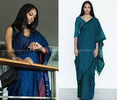 How To Wear Sarees To Office