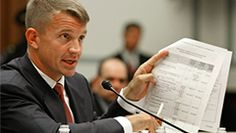 The New York Times Gives Ex-Blackwater CEO Erik Prince Free Advertising  It's 'incredible' that the New York Times gave former Blackwater CEO Erik Prince editorial space to suggest letting private mercenaries lead the war in Afghanistan, says Col. Lawrence Wilkerson