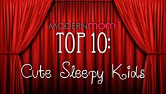 Cute Sleepy Kids - ModernMom Top 10