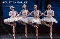 Set to the hauntingly beautiful Tchaikovsky score, Houston Ballet's Swan Lake tells the classic tale of Odette – a beautiful maiden transformed into a swan by an evil knight – and the prince who swears his enduring love for her. See it June 5 – 15, 2014.