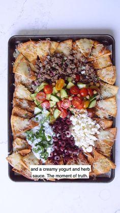 Lamb Recipes, Greek Recipes, Healthy Recipes, Yummy Appetizers, Appetizer Recipes, Cheap Meals, Easy Meals, Ground Lamb, Mediterranean Diet Recipes